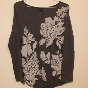 Maternity top, Sz XL, Floral